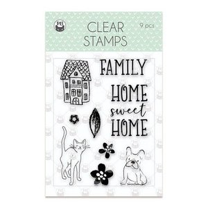 Piatek13 - Clear stamp set We are family 01