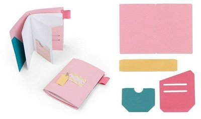 Sizzix Bigz XL Die - Traveler's Notebook Pages & Pockets  Katelyn Lizardi