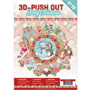 3D Pushout Book 19 Lovely Christmas
