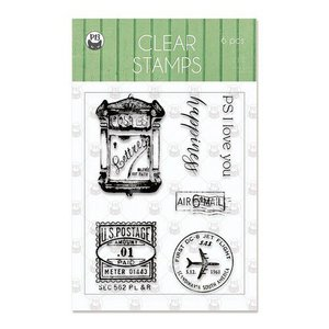 Piatek13 - Clear stamp set Till we meet again 01