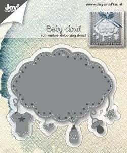 Joy! stencil baby wolk 6002/1408