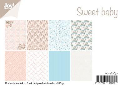 Joy! papierset Sweet baby 6011/0631