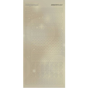 Hobbydots Sticker - Pearl  - 17 Gold