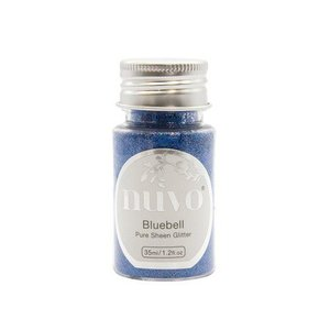 Nuvo Pure sheen glitter - bluebell 35ml
