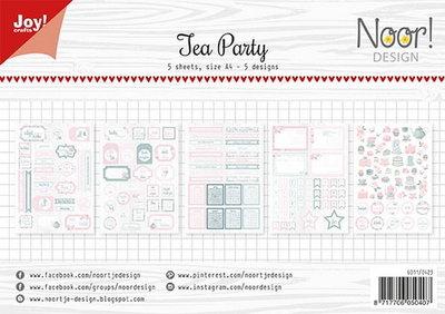 Joy! labelvellen knipvel Tea Party 6011/0423