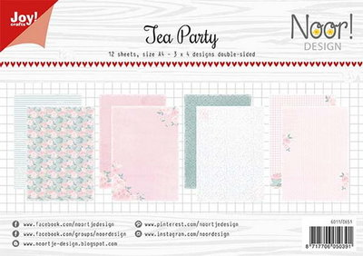 Joy! papierset Tea Party 6011/0651