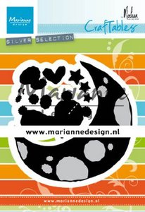 Marianne Design Craftable Dreaming bear by Marleen CR1503
