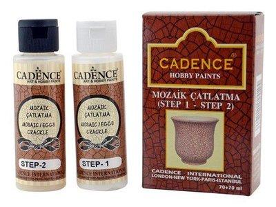 Cadence ei / mozaiek crackle set 70+70ml