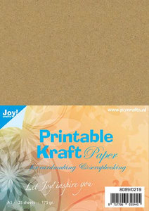 Joy! Kraftpapier A5 printable 8089/0219