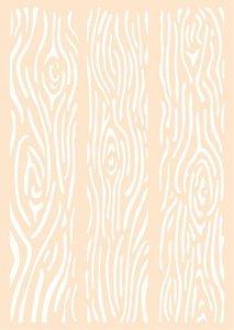 Joy! Crafts Polybesa Mixed mediastencil A6 - Houten planken 6005/1454 A6