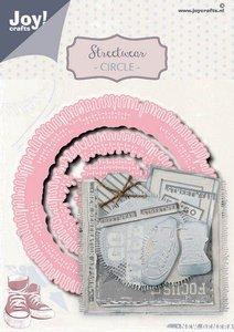 Joy! Crafts Snijstansmal - Noor - Streetwear circle 6002/1497