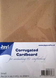 Joy! Crafts Ribbelkarton A4 10vl 8089/0214