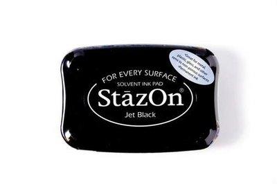 Stazon inktkussen Jet Black