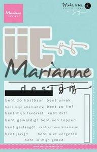 Marianne Design Stempel Karin's JIJ (NL) KJ1726
