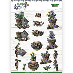 3D cutting sheet - Amy Design - Botanical Spring - Spring Arrangement