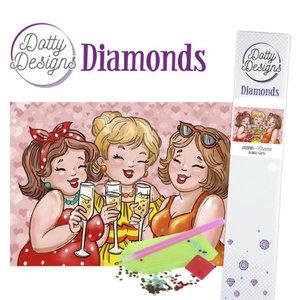 Dotty Designs Diamonds - Bubbly Girls - Cheers