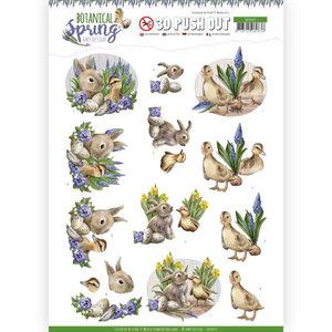 3D Pushout - Amy Design - Botanical Spring - Best Friends