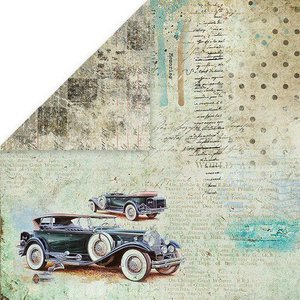 Craft&You Man's World Scrapbooking single paper 12x12 Nr06