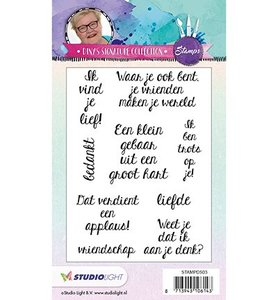 Studio Light clear stamp Diny's signature collection 3.0