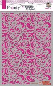 Pronty Mask Pattern barok 3 A5  by Jolanda