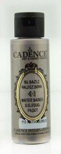 Cadence Gilding Metallic acrylverf Antiek zilver 70 ml