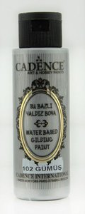 Cadence Gilding Metallic acrylverf Zilver 70 ml