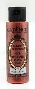 Cadence Gilding Metallic acrylverf Antiek koper 70 ml