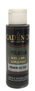 Cadence Premium acrylverf (semi mat) Antiek groen  70 ml