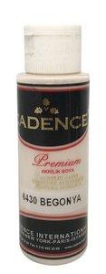 Cadence Premium acrylverf (semi mat) Begonia  70 ml