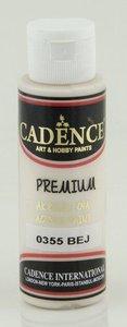 Cadence Premium acrylverf (semi mat) Beige 70 ml