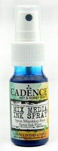 Cadence Mix Media Inkt spray Blauw 25 ml