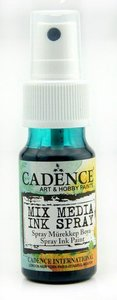 Cadence Mix Media Inkt spray Groen 25 ml