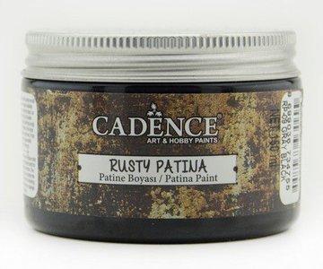 Cadence rusty patina verf Grijs zwart 150 ml