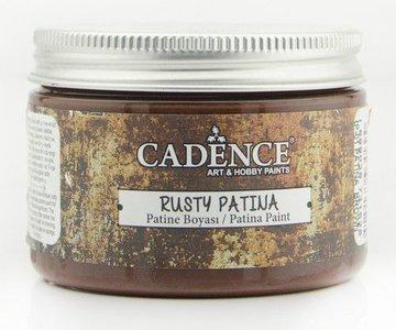 Cadence rusty patina verf Patina Brown 150 ml