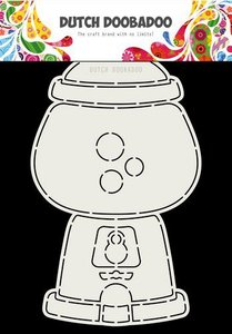 Dutch Doobadoo Card Art Kauwgomballen automaat A5