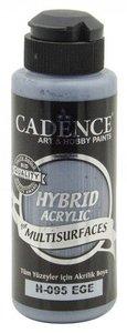 Cadence Hybride acrylverf (semi mat) Agean - blauw  120 ml