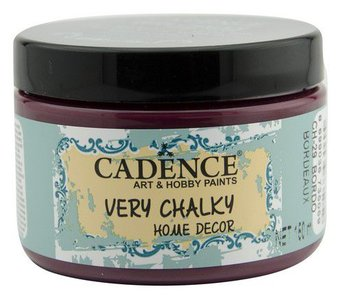 Cadence Very Chalky Home Decor (ultra mat) Bordeaux  150 ml