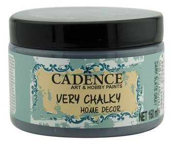 Cadence Very Chalky Home Decor (ultra mat) Donker leigrijs 150 ml