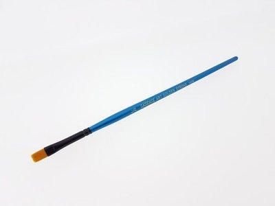 Cadence CA 1006 plat penseel goud synthetisch NO:1/4 - 6mm