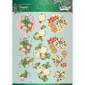 3D cutting sheet - Jeanines Art Christmas Flowers - Christmas Bells