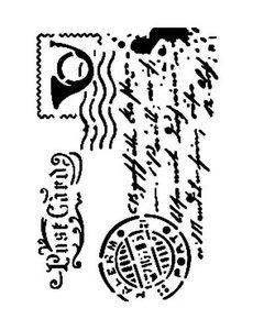 Cadence Mask Stencil AS - postkaart