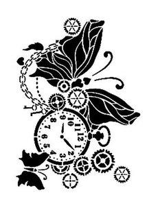 Cadence Mask Stencil AS - zakhorloge-vlinder