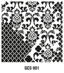 Cadence Mask Stencil GCS - Grunch ornament 1