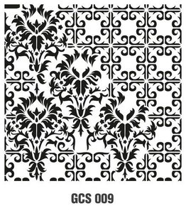 Cadence Mask Stencil GCS - Grunch ornament 9