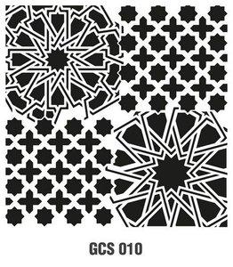 Cadence Mask Stencil GCS - Grunch ornament 10