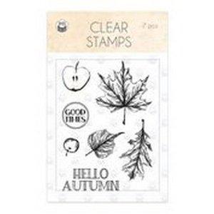 Piatek13 - Clear stamp set The Four Seasons - Autumn 01