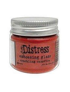 Ranger Distress Embossing Glaze - Crackling Campfire