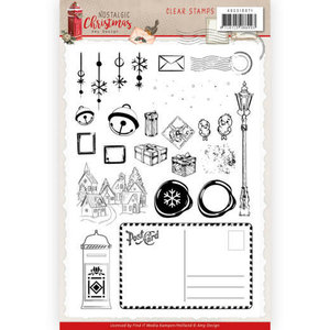 Clear Stamps - Amy Design - Nostalgic Christmas