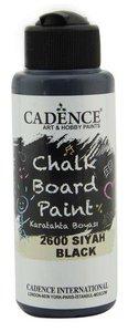Cadence Chalkboard verf Zwart 120 ml
