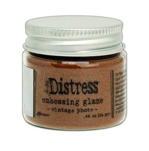 Ranger Distress Embossing Glaze Vintage Photo Tim Holtz